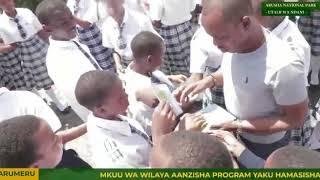 Mkuu wa wilaya ya Arumeru Jerry Muro