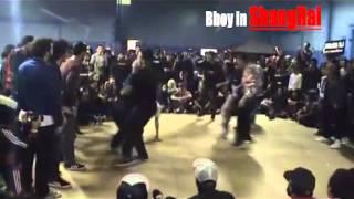 BBOY IN SHANGAHI feat. Bboy Neguin Reeun Kareem  Lil Bob Cros One
