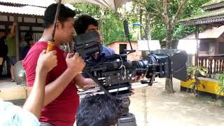 bangla movie shooting video