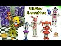Download Lagu Five Nights A Freddy's Sister Location Funko Vinyl Ballora, Baby,  Funtime Foxy Game Toy Set