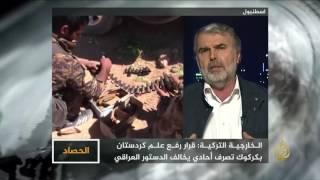 الحصاد-سعي الأكراد لتوسيع سيطرتهم بمناطق بالعراق وسوريا