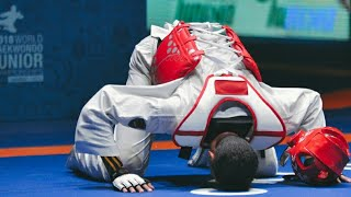 (Official highlight) 2018. Junior World Taekwondo Championships Tunisia. (HD)
