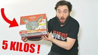 Ouverture du Coffret Pokémon de 5 KILOS à 150 EUROS !!