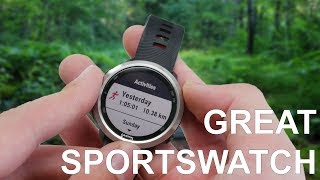 Garmin Forerunner 645 Music Review with software overview