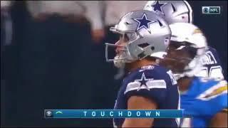 Desmond King 90-Yard Pick 6!   Chargers vs. Cowboys   NFL