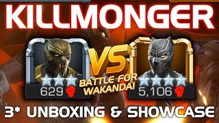 Killmonger Unboxing & Duel vs. Black Panther (Civil War) w/ Tips | Marvel Contest of Champions