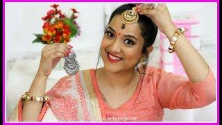 8 Hacks for Indian Jewellery   Navratri/Festival/Wedding jewellery Hacks   Perkymegs