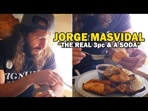 Jorge Masvidal This Is The Real 3pc & A Soda