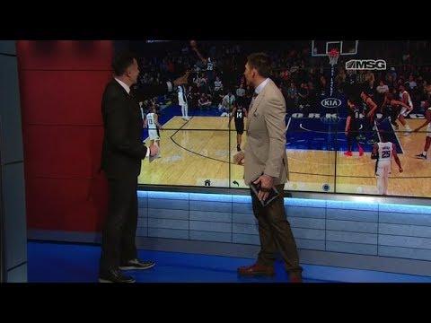 Xxx Mp4 Wally Wall Mitchell Robinson 39 S Career Night New York Knicks MSG Networks 3gp Sex