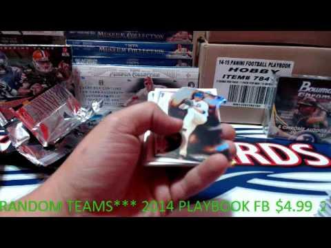 2014 Bowman Chrome JUMBO Baseball Personal Break 9/29/2015 HenrysCards