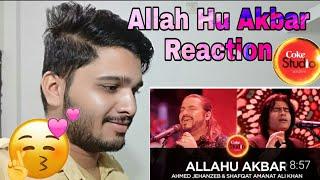 Allah Hu Akbar Coke Studio Reaction | Be Indian Guy Rehan