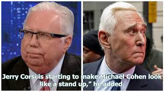 Jerome Corsi claims Roger Stone tried to cause him to have heart attacks to prevent testimony: re...