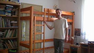 DIY full size bunk bed