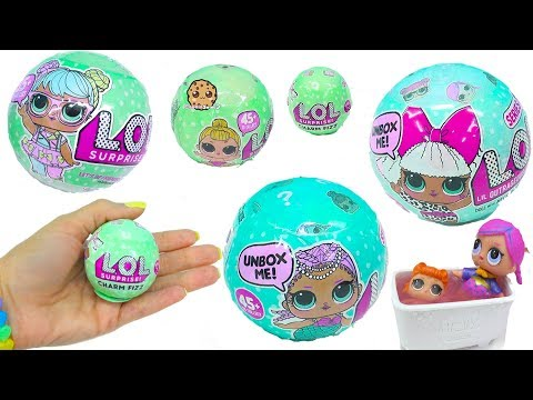 Xxx Mp4 LOL Surprise Doll Blind Bags Big Lil Sisters Fizz Charm Baby Toy 3gp Sex