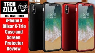 iPhone X Olixar X Trio Case and Screen Protector Review (4K)