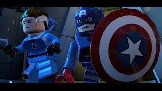 LEGO Marvel Super Heroes 100% Walkthrough Part 2 - Times Square Off (Doctor Octopus Boss Fight)