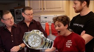 SURPRISING MY STEPDAD WITH A $13,000 ROLEX!!