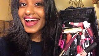 My Lipstick Collection + Lip Swatches Indian/Dark Skin