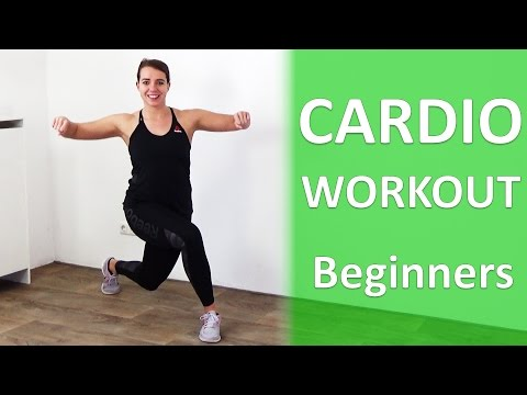 Cardio Workout for Beginners - 20 Minute Effective Cardio Exercises At Home - No Equipment