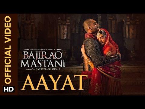 Aayat  Song  Bajirao Mastani  Ranveer Singh, Deepika Padukone