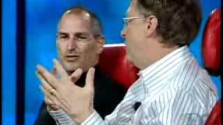 D 2007 - Steve Jobs and Bill Gates Historic Interview