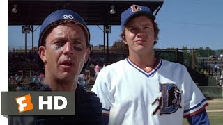 Bull Durham (1988) - Nuke Brings the Heat Scene (4/12) | Movieclips