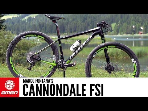 Marco Fontana's Cannondale FSI + Fontana Interview