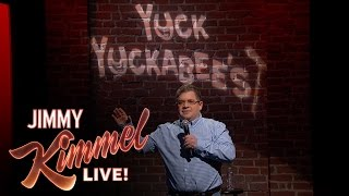 Patton Oswalt Performs Mike Huckabee's Twitter Jokes