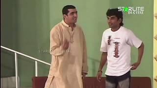 Zafri Khan, Nasir Chinyoti and Tariq Teddy New Pakistani Stage Drama Full Comedy Clip