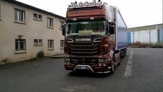 Sound Tuning- Scania R730 Black Amber Tuning By  Team Nicolo