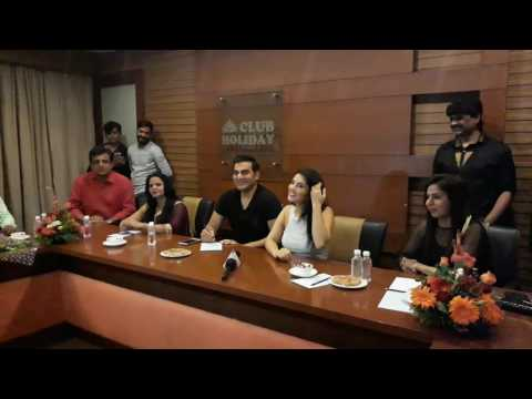Arbaaz Khan and Sunny leone sharing experience working in film Tera Intazaar