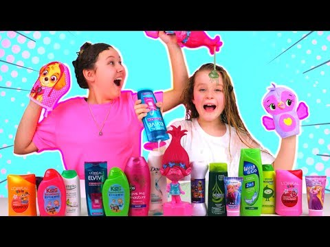 EXTREME Don t Choose the Wrong Shampoo Slime Challenge