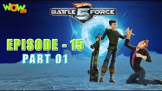 Motu Patlu presents Hot Wheels Battle Force 5 - Double Down - Episode 15-P1 - in Hindi