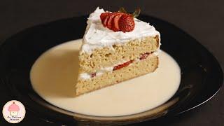 Pastel de tres leches paso a paso / 3 milk cake, step by step