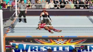 Wrestlemania 33-Becky Lynch vs Nikka Bella