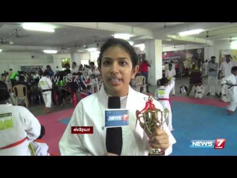 National level karate championship at Kanchipuram   News7 Tamil