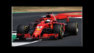 F1: Vettel takes win, Hamilton P2 after early spin in British Grand Prix