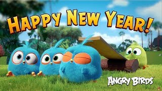 Happy New Year from Angry Birds!