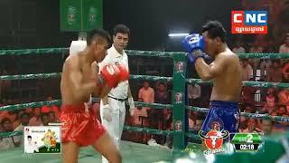 Kmer Boxing, ឡុង បេនលឿន ប៉ះ  សេក វណ្ណះ , Kun Khmer, CNC TV Boxing