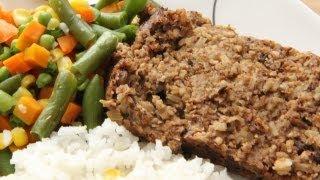 Vegan Basic Meat Loaf Recipe - Mushroom Nut Loaf - Day 6 Southern Queen of Vegan Project