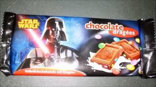 STAR WARS  - 127 -  CHOCOLATE BAR DRAGEES