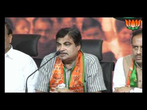 BJP Press: Delhi MCD Election 2012 Results : Sh. Nitin Gadkari: 17.04.2012