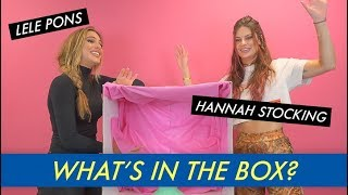 Lele Pons vs. Hannah Stocking - What's in the Box?