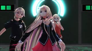 【MMD】ECHO - IA, ONE, IO. 【GUMI English】