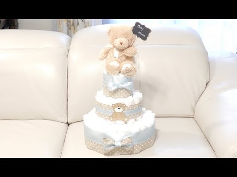 Xxx Mp4 Teddy Bear Diaper Cake How To Make That 3gp Sex