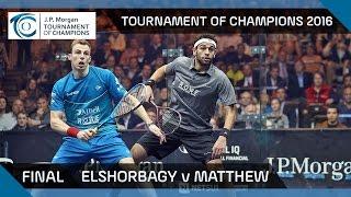 Squash: Tournament of Champions 2016 - Men