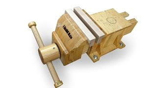 Making New Jaws For The Wooden Vise