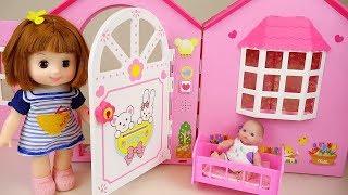 Baby doll poops & peeps on Toilet toy 콩순이 뽀로로 응가놀이 장난감