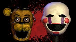 FNAF 4: Is the Kid Golden Freddy or the Puppet? || Gaming Conspiracies