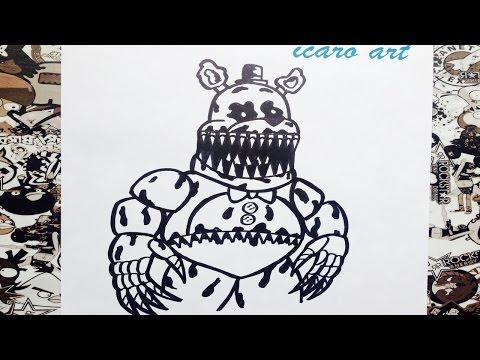 Xxx Mp4 Como Dibujar A Fredbear De Five Nights At Freddy S 4 How To Draw Fredbear 3gp Sex
